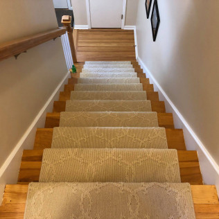 California Wrapped Stair Runner