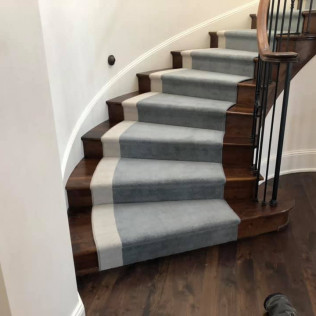 Stair Runner with Border